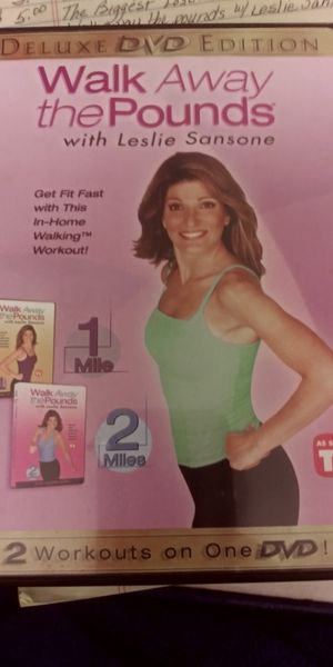 Leslie Sansone- Walk away the pounds 2 DVD Set for Sale in Northwest Plaza, MO