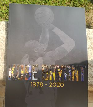 SAME DAY SHIP The Los Angeles Kobe Bryant 1978 - 2020 LIMITED EDITION for Sale in Inglewood, CA
