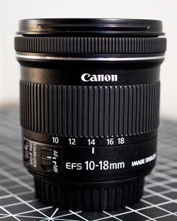 Canon 10-18mm EF-s Lens for Sale in Chesapeake,  VA