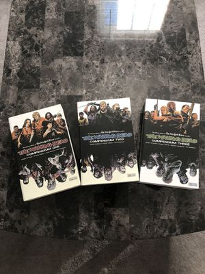 Comics - Walking Dead compendiums 1-3 for Sale in North Chesterfield, VA