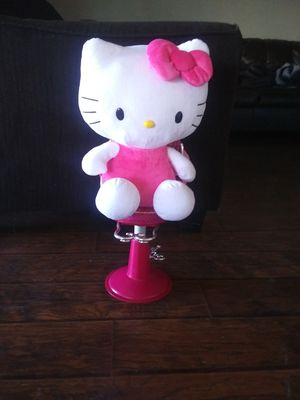Salon Chair and Hello Kitty for Sale in Crowley, TX