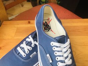 Vans Off The Wall Dark Blue Skateboard Sneaker for Sale in Chicago, IL