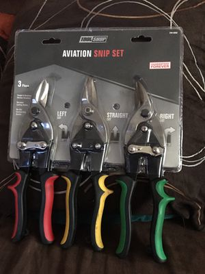 New- Aviation Snip Set of 3 for Sale in Chicago, IL