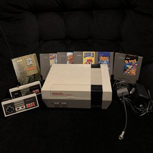 Original NES With 6 Games for Sale in Lake Stevens, WA