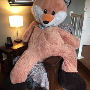 Large Stuffed Fox, 6 Feet Tall for Sale in Hanover, MD