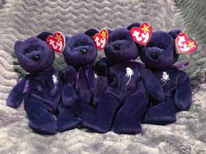 Princess - Beanie Babies (lot of 4) for Sale in Denver, CO