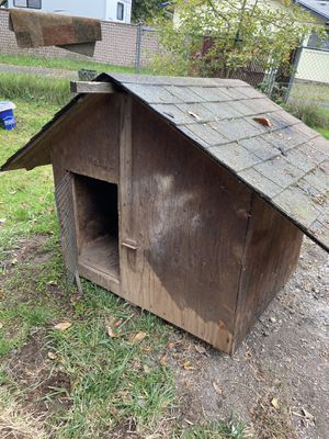 Large dog house free you haul for Sale in Vancouver, WA