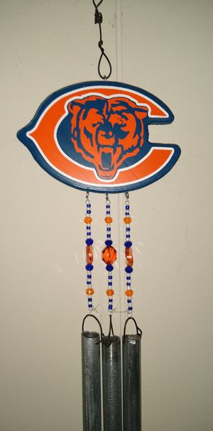 Chicago bears wind chime for Sale in Glendale, AZ