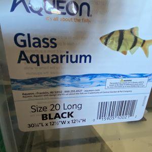 Aqueon Glass Fish Tank for Sale in Sacramento, CA