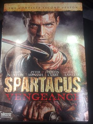 Spartacus Vengeance The Complete Second Season DVD for Sale in Harrisburg, NC