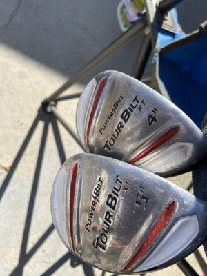 Golf club drivers tour bilt number four and number five for Sale in Cerritos, CA