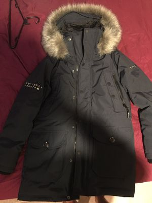 Superdry Premium Ultimate Down Parka Coat (Medium) for Sale in Hyattsville, MD