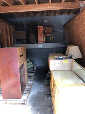 Entire garage full of stuff (chairs, armchair, bookshelves etc) for Sale in Drexel Hill, PA