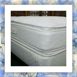 Twin mattress double pillowtop and box spring free shipping for Sale in Rockville, MD