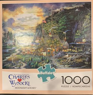 Buffalo Games 2x 1000 piece puzzles for Sale in Long Beach, CA