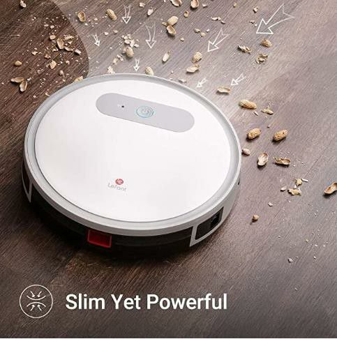 Lefant Robot Vacuum and Mop, M501-A Robotic Vacuums Cleaner, Wi-Fi Connectivity, 2000Pa Power Suction, Compatible with Alexa and Google, Self Charging