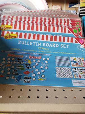 Dr Suess Bulletin board set for Sale in Stockton, CA