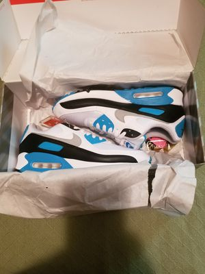 New Nike Airmax 90 Laser Blue size 9 for Sale in Philadelphia, PA