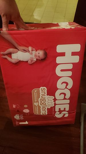 Huggies size 1 198ct. for Sale in Dallas, TX