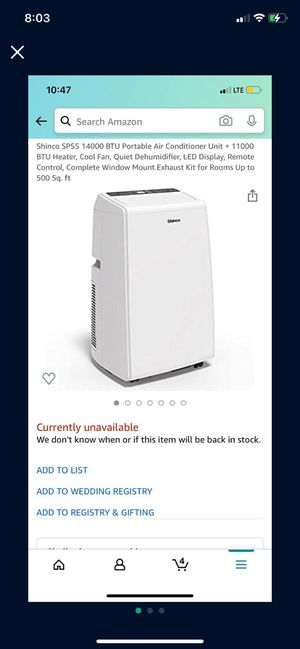 Multi function air conditioner for Sale in Selma, CA