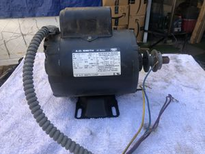 Electric motor (A.O. Smith ) for Sale in Fort Belvoir, VA