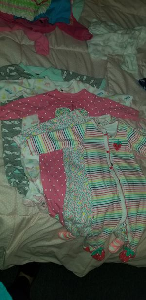 👼Baby Clothes 6 months pajamas👶 for Sale in Los Angeles, CA