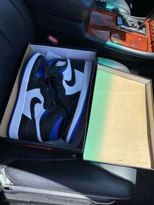 Jordan 1 Royal toes for Sale in Newark, CA