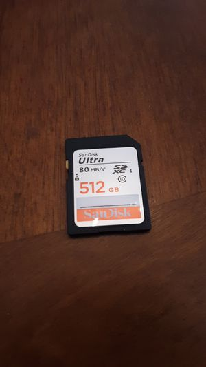 Sandisk Ultra 512GB SDXC 80MB/s' for Sale in Monroe, LA