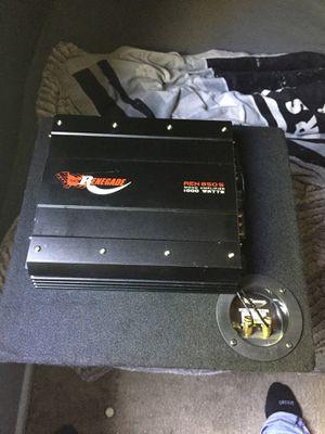 Renegade ren 850s mono amplifier 1000 watts for Sale in West Valley City, UT