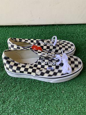 Vans Authentic Blur Black & White Checkerboard for Sale in Fresno, CA
