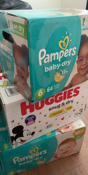 Huggies And Pampers Diapers for Sale in Tampa, FL