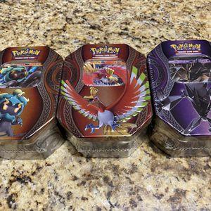 Pokémon tins $15 Each for Sale in Phoenix, AZ