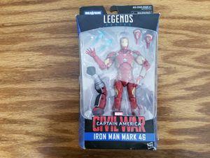 Marvel Legends Iron Man mark 46 action figure for Sale in Cumming, GA