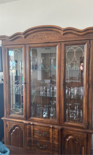 Antique China Hutch for Sale in San Diego, CA