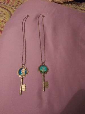 Frozen Elsa and Olaf little girls necklaces. for Sale in Philadelphia, PA