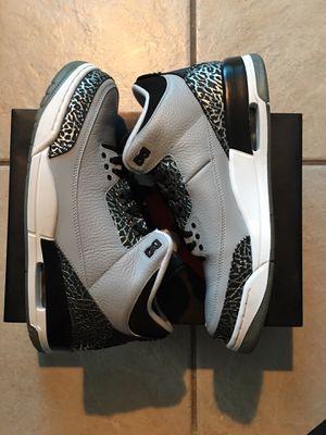 Air Jordan 3 Retro Wolf Grey for Sale in Miami, FL