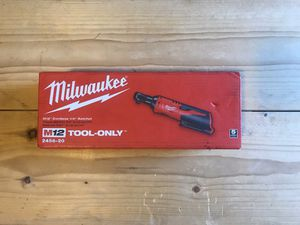 Milwaukee M12 12-Volt Lithium-Ion Cordless 1/4 in. Ratchet (Tool-Only) for Sale in Queens, NY