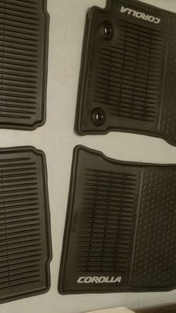 Toyota corolla Floor Mats 2015 for Sale in Bellevue,  WA