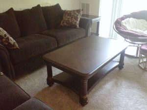 Coffee table sherry wood for Sale in Alexandria, VA