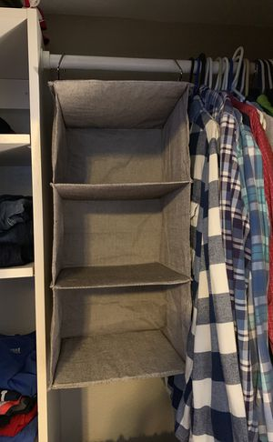 Closet Organizer 3 Shelf for Sale in Denver, CO