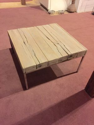 Reclaimed white oak barn wood coffee table for Sale in Columbus, OH