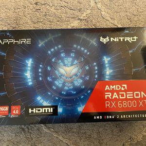 Sapphire Nitro+ Amd Rx 6800 Xt for Sale in San Ramon, CA