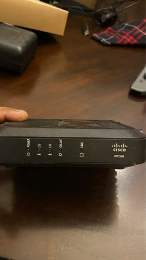 Cisco cable modem DPC3008 for Sale in Frisco, TX