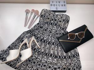 Who're&black sun dress for Sale in Manassas, VA