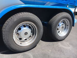 205/70R14 trailer or car wheels and tires for Sale in Mission Viejo, CA