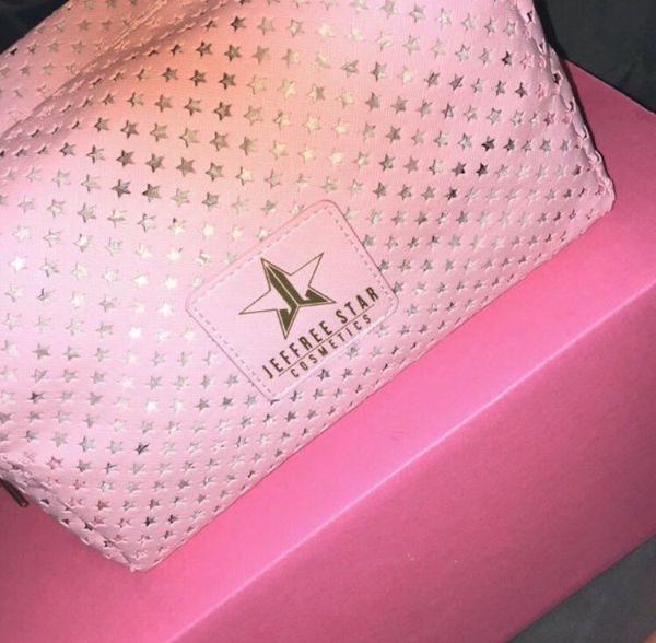 Jeffree Star makeup bag