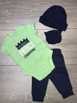 Baby Boy Clothing Carter's Newborn $3.50 for Sale in South Gate, CA
