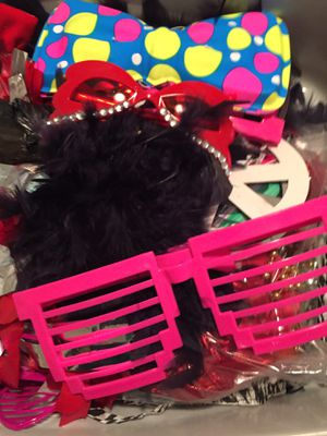 Box of photo booth props for a fun event! for Sale in Bakersfield, CA