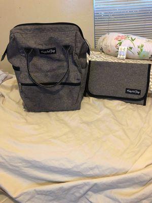 Dark grey diaper bag backpack for Sale in Irving, TX