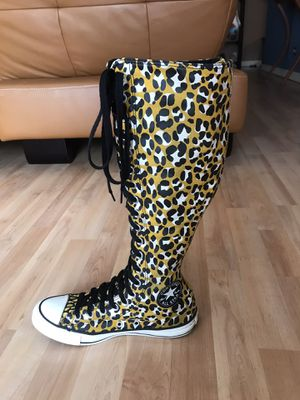 All Star Cheetah Converse (Women's size 5) for Sale in Bolingbrook, IL